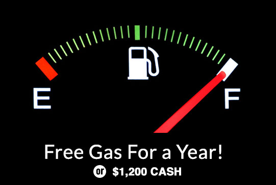 """Gas for a Year"""