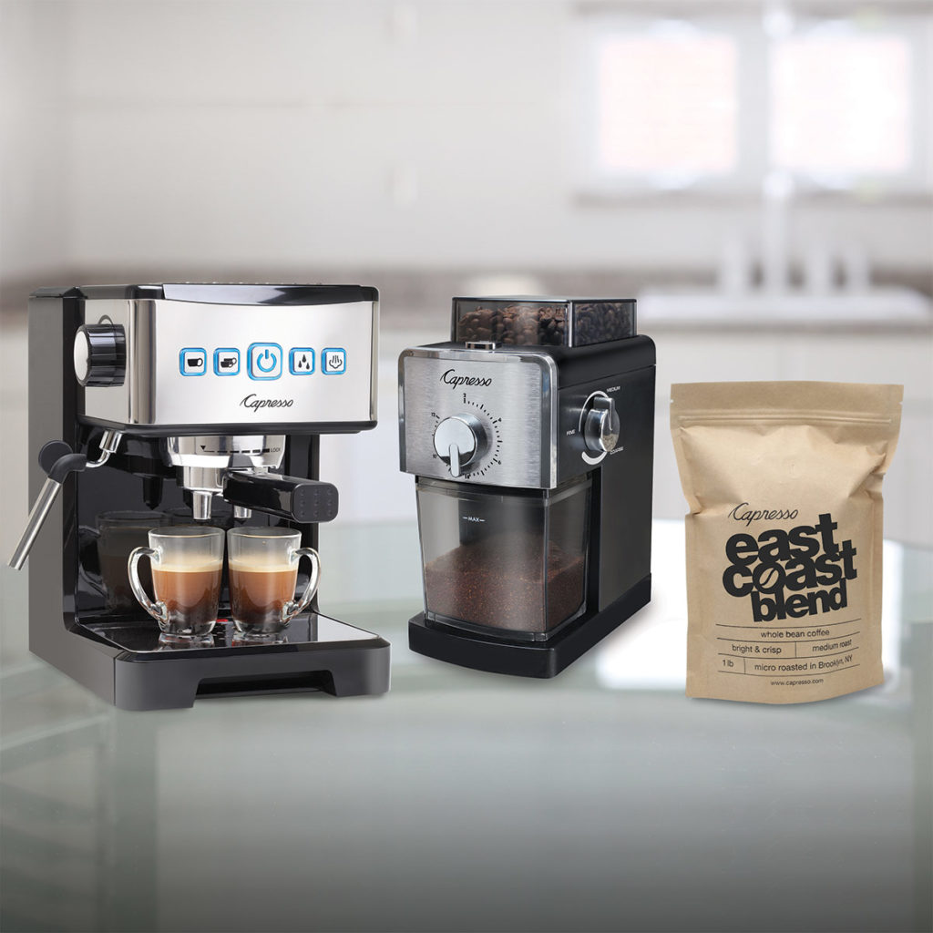 Capresso Espresso Machine Bundle